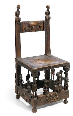 Chokwe Chief's Throne, Angola