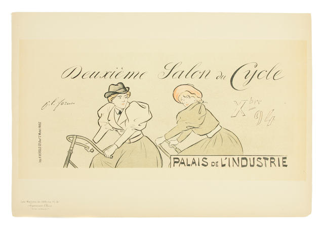 Jean Louis Forain (French, 1852-1931); Deuxieme salon du cycle, Pl. 51;