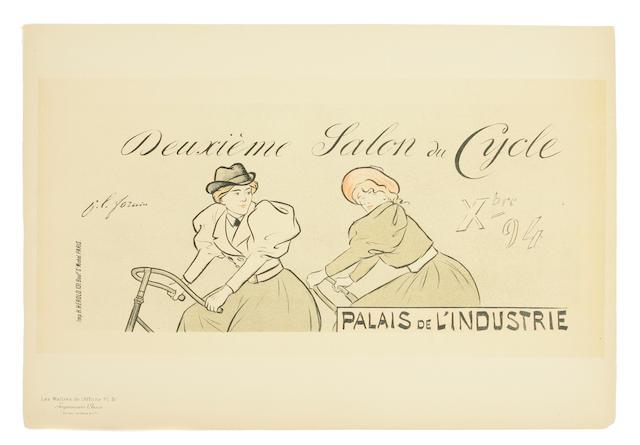Jean Louis Forain (French, 1852-1931); Deuxieme salon du cycle, Pl. 51;
