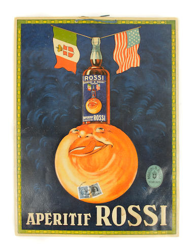 Artist Unknown; (20th century) Apértif Rossi;