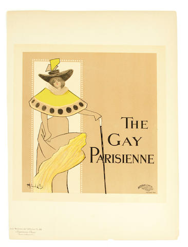 Hyland Ellis; (20th century) The Gay Parisienne, Pl. 96;