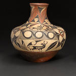An Acoma polychrome jar