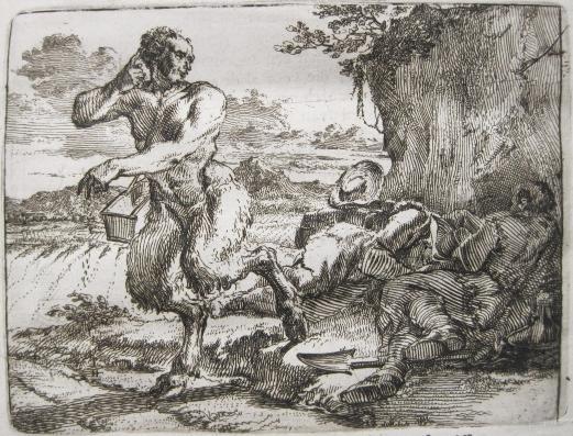DE HOOGHE, ROMEIN, illustrator. HOOGSTRAETEN, FRANS VAN. Het Voorhof der Ziele.... Rotterdam: Hoogstraeten, 1668.<BR />