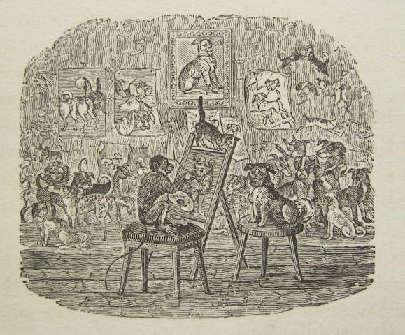 BEWICK, THOMAS, illustrator. The Fables of Aesop and Others. Newcastle: for T. Bewick and Son, 1818.<BR />