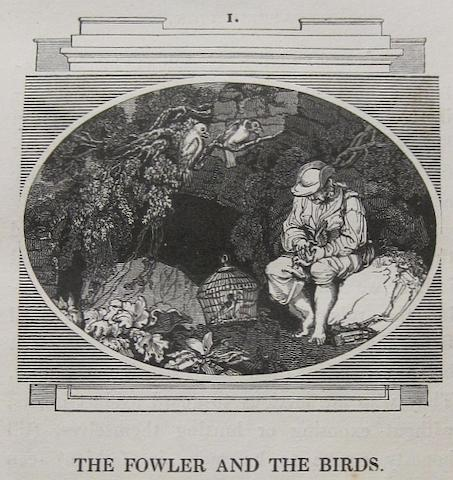 NORTHCOTE, JAMES, illustrator. One Hundred Fables. London: George Lawford, 1828.<BR />
