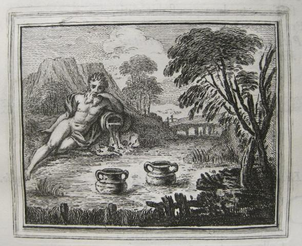 FAERNIUS, GABRIEL. D.1561. Cent Fables choisies des anciens auteurs.... London: Darres & Du Bosc., 1743.