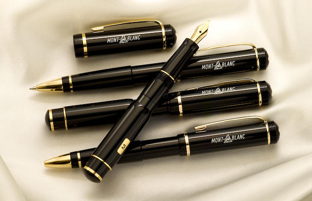 MONTBLANC: 100 Year Historical Collection 4-Piece Limited Edition Set