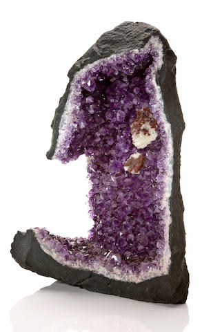 Amethyst Geode Section