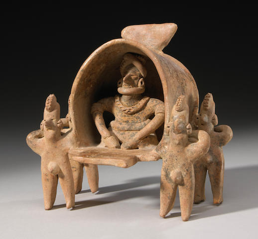 Colima Litter Group, Late Preclassic, ca. 300 - 100 B.C.