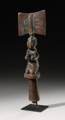 Yoruba Shango Staff
