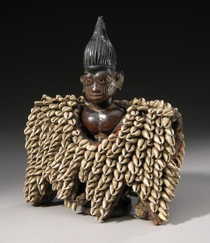 Yoruba Ibeji Male Figure, Nigeria