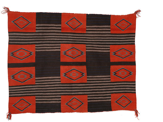 A Navajo woman's Chief's blanket