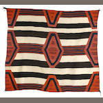 A Navajo third phase chief's blanket