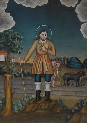 A Mexican retablo