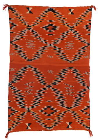 A Navajo child's blanket