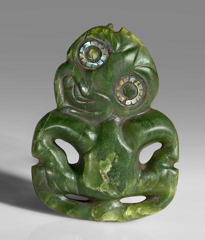Maori Greenstone Amulet, New Zealand