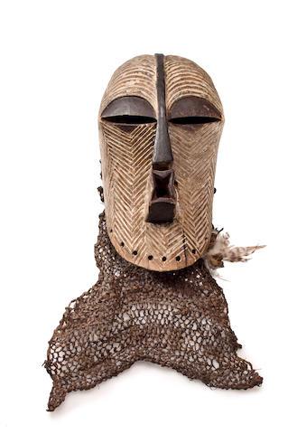 Songye Mask, Northern Luba, Kongolo Region, Democratic Republic of Congo