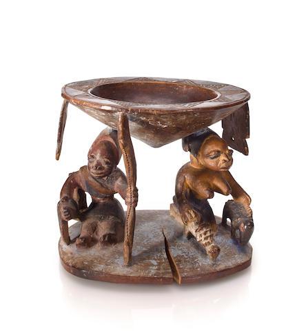 Yoruba Divination Bowl, Ketu Village, Nigeria