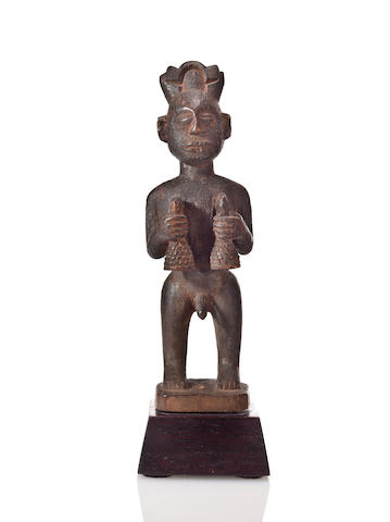 Fon Standing Male Figure, Ketu Region, Benin