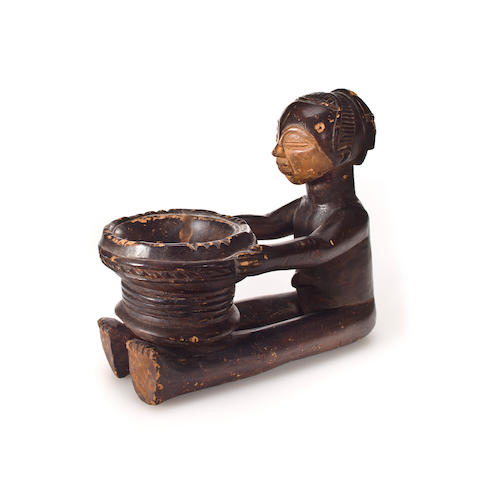 Figure, m'boko, divination bowl