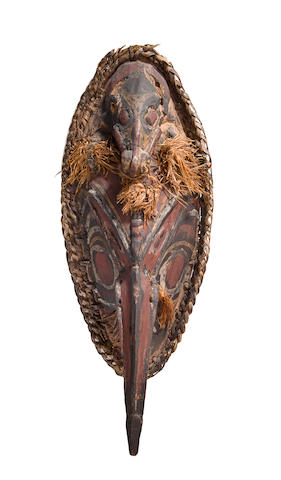 Important Sepik River Mask, probably Ambunti Village region, Papua New Guinea