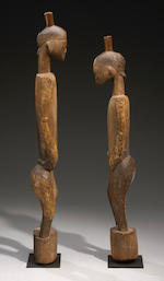 Senufo Rhythm Pounder Couple, Ivory Coast