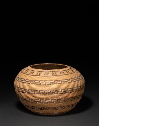 A Chumash basket