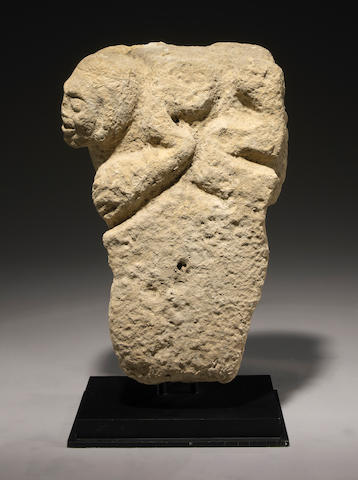 Monumental Huastec Stone Marker, Early Classic, ca. A.D. 200 - 600