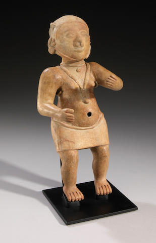 La Tolita standing female figure