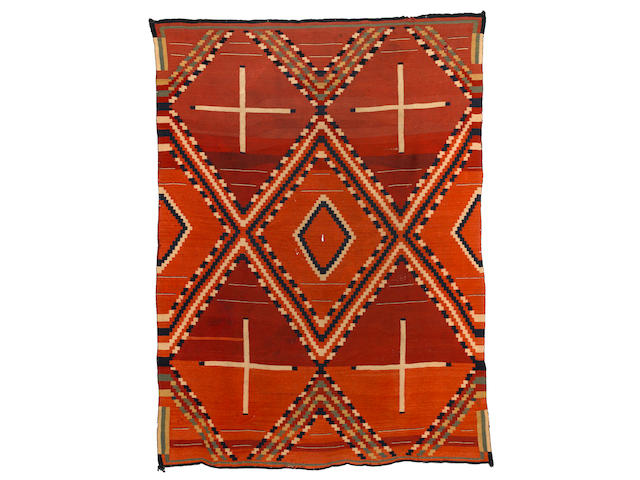 A rare and unusual Navajo sarape