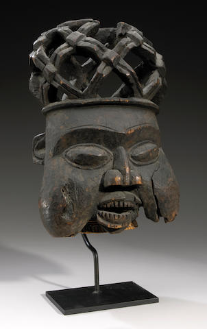 Bamum Helmet Mask