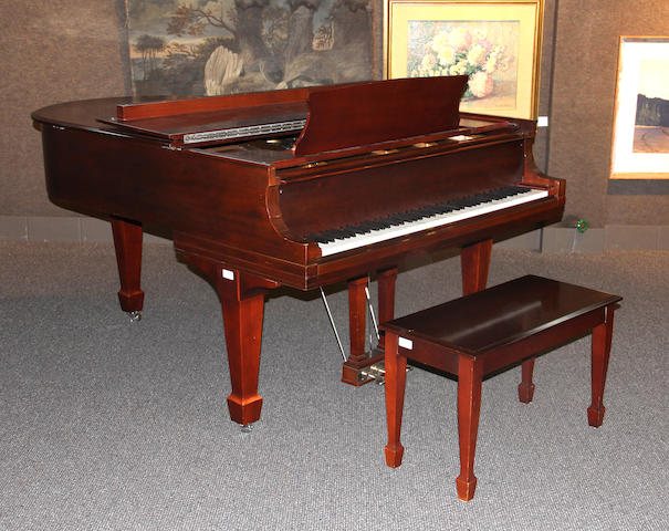 "A Steinway grand piano model ""O"" early 20th century"