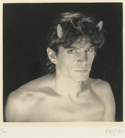 Robert Mapplethorpe (American, 1946-1989); Portrait, from Season in Hell;