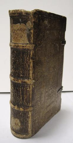 HOMER. [In Greek]: Odysseia. Batrachomuomachia. Hymnoi. Lb. Strassburg: [Köpfel], 1534.