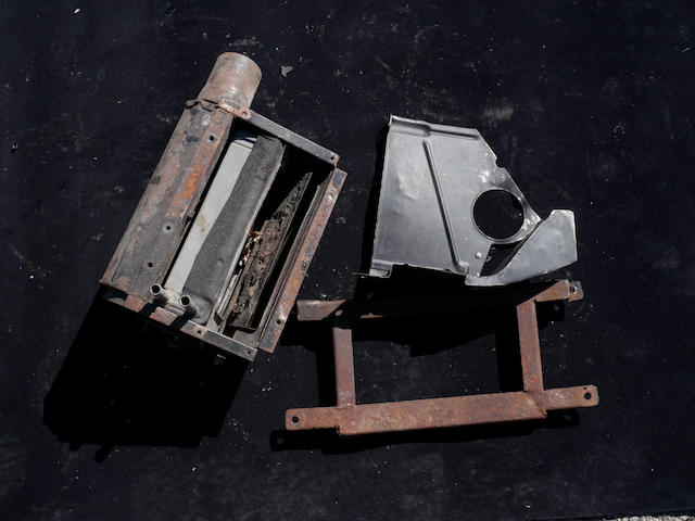 A DB5 heater box assembly,