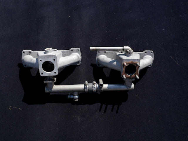 A pair of DB intake manifolds,