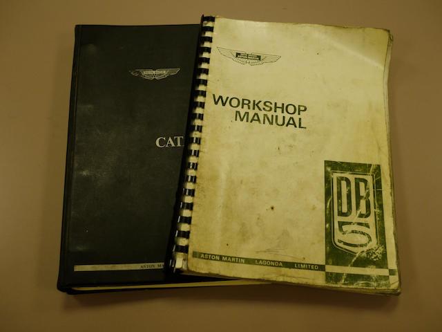 Four DB5 books,