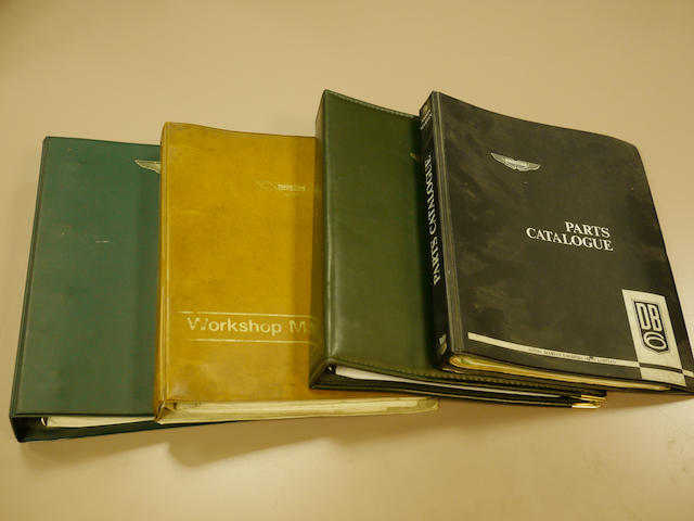 Four Aston Martin books,