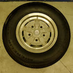 "A set of five 15"" AM V8 GKN wheels,"