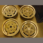 A set of four AM V8 GKN wheels,