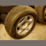 "A set of four 16"" Aston Martin Virage wheels, circa 1991,"
