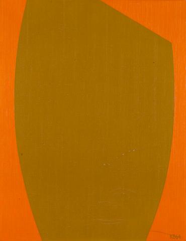 Karl Stanley Benjamin (American, born 1925) #8, 1964 18 x 14in (45.7 x 35.6cm)