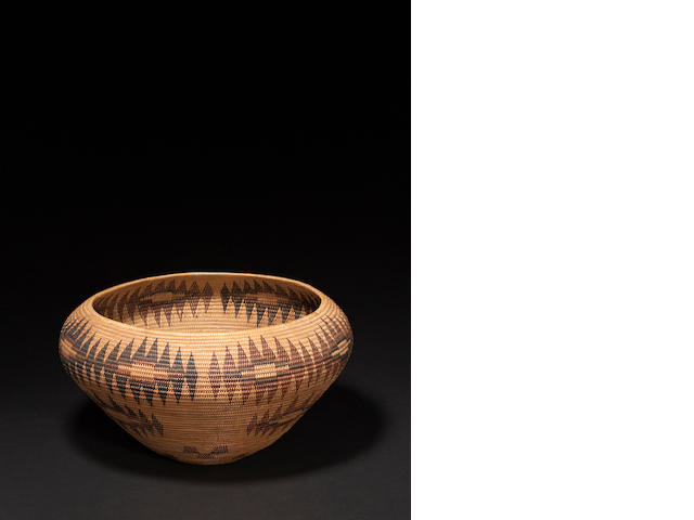 A Washo basket