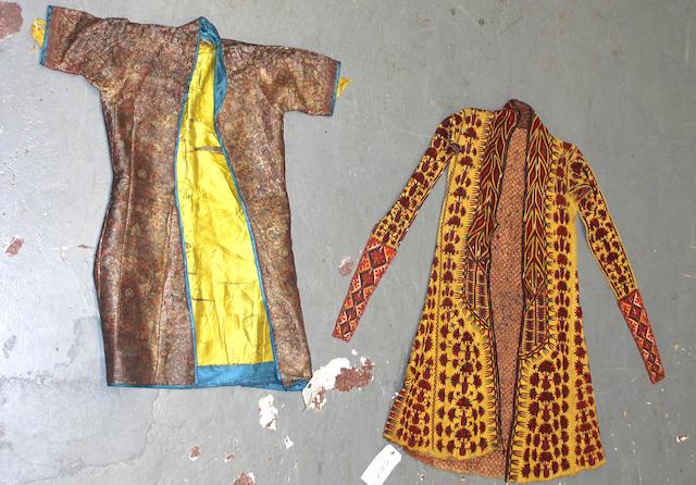 A Pair of Uzbekistan coats