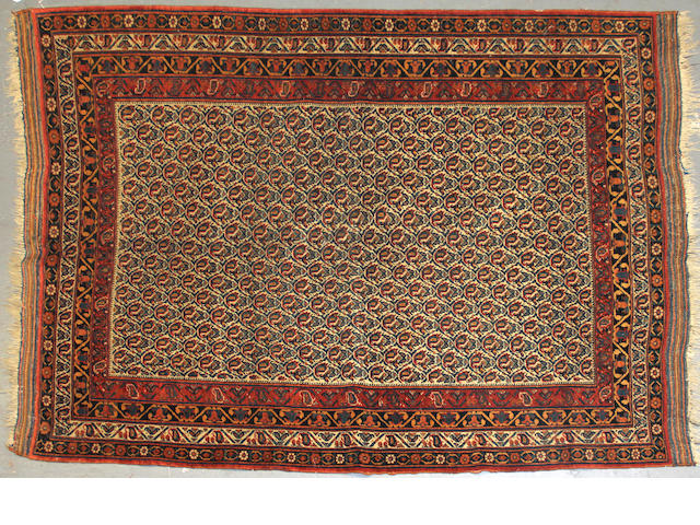An Afshar rug size approximately 4ft. 8in. x 6ft. 10in.