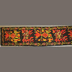 A Besserabian Kilim runner size approximately 3ft. 5in. x 15ft. 7in.