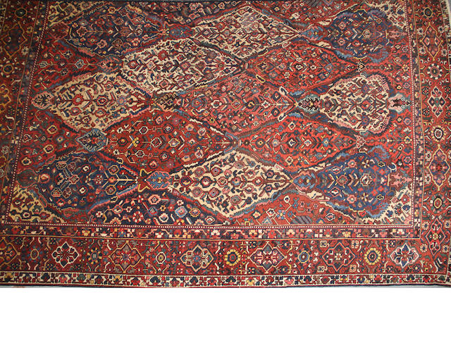A Bakhtiari carpet  size approximately 11ft. 2in. x 13ft. 7in.