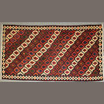 A Caucasian Kilim size approximately 4ft. 10in. x 9ft. 2in.