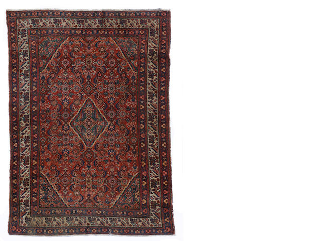 A Malayer rug size approximately 4ft. 4in. x 6ft. 2in.