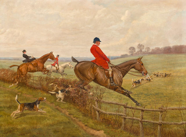 Edwin Douglas (British, 1848-1914), Fox Hunt